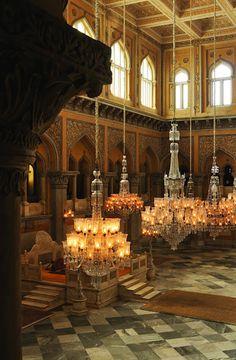 Chowmahala Palace Chandeliers - Hyderabad, India