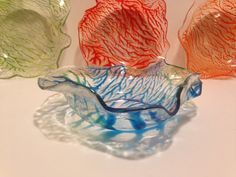 Small bowl hand made from recycled plastic bottles by oceanarts10, $15.00