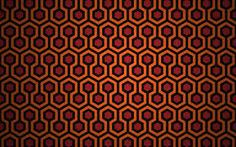 I saw this pattern as a poster on LastExitToNowhere and forgot about it for a while. Then, when watching The Shining last night, sudden recalled it. The Shining Graphic Design Pattern, Graphic Patterns, The Shining, Hd Wallpaper Pattern, Room 237, Hotel Carpet, Cheap Carpet, Patterned Carpet, Original Wallpaper