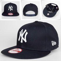 brand new ab304 e2963 New Era 9Fifty Snapback Basecap NY New York MLB navy S M - mycap24