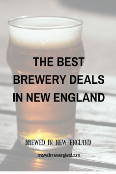 Groupon has been great for discovering new breweries around New England, especially in Connecticut. I've rounded up the current Groupon brewery deals around New England