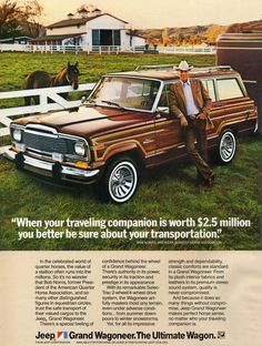 Jeep Wagoneer Advertisment.