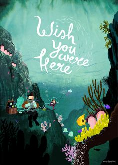 """Wish You Were Here"" - Benji Davies. link leads to his portfolio -- great…"