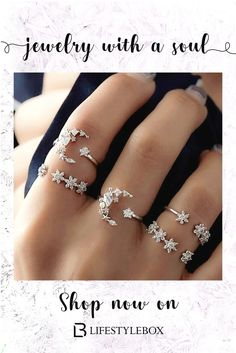 Essential accessories, including rings set, earrings, silver necklaces and wrist bands] that we all love. Check out the hyperlink to shop for.