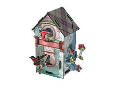 Vogelhuisje Two floors playmate - Miho