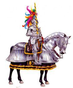 """Knight in 'Maximilian' armour, beginning of sixteenth century"", Velimir Vuksic"