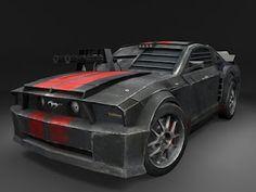 death race Mustang car