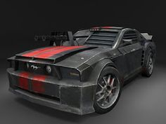 death race Mustang car