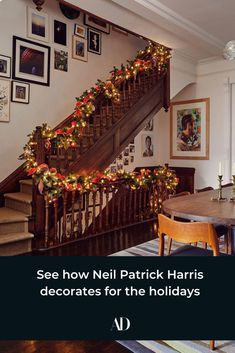 NPH and husband David Burtka go out all for the holidays—check out their fun and traditional Christmas decor. Christmas Wreaths, Christmas Decorations, Holiday Decor, Holiday Gifts, Xmas, Love Holidays, Holidays And Events, David Burtka, Neil Patrick Harris