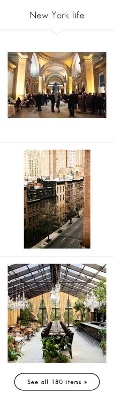 """""""New York life"""" by medicicapetiens ❤ liked on Polyvore featuring backgrounds, pictures, photos, new york, pics, scenery, wedding, interiors, accessories and interior"""