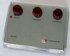 This is the complete kit for the Klon Centaur Replica. One of the greats of the overdrive guitar effects! Includes all the parts and materials you need to build a Klon Centaur Replica, including the PCB. Guitar Effects Pedals, Guitar Pedals, Pedalboard, Centaur, Distortion, Kit, Instruments, Silver, Vintage