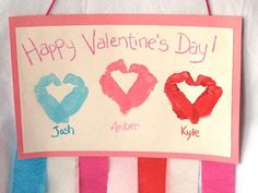 Here are Valentine day crafts for kids that kids can make and some crafts that can be made for them. These Valentine Crafts for kids are so simple that you do not need any special skill or any instructions to make them, Easy Diys For Kids, Valentine's Day Crafts For Kids, Valentine Crafts For Kids, Homemade Valentines, Happy Valentines Day, Holiday Crafts, Holiday Fun, Valentine Ideas, Holiday Ideas