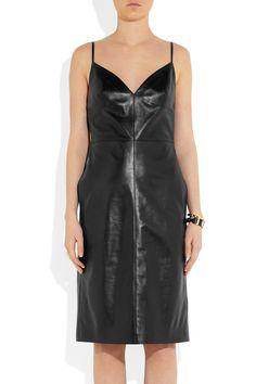 Valentino Leather dress NET-A-PORTER.COM