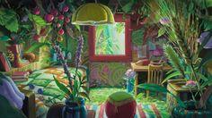 Fonds d'écran Dessins Animés > Fonds d'écran Arrietty le petit monde des chapardeurs Arrietty le petit monde des chapardeurs par subeh - Hebus.com