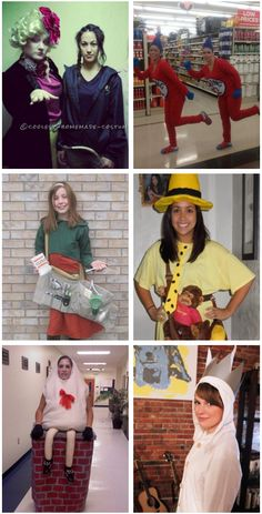 15 easy book character costumes for teachers book characters 16 diy literary costumes you need to wear this year for halloween solutioingenieria Gallery