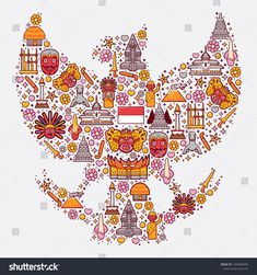 Find Set Icons Indonesia Garuda Form stock images in HD and millions of other royalty-free stock photos, illustrations and vectors in the Shutterstock collection. Thousands of new, high-quality pictures added every day. Batik Art, Doodle Art, Original Wallpaper, Icon Design, Indonesian Art, Art, Poster Design, Watercolor Paper Texture, Vector Art