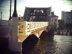 Bridge on the Venetian Castaway Heading into South Beach: Miami