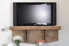 5 Modern DIY TV Consoles for Hiding Ugly Cable Boxes and Wires: A DIY Faux TV Shelf