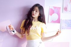 Irene looks like the sexy girl next door in this new photoshoot Seulgi, Kpop Girl Groups, Kpop Girls, Irene Red Velvet, Red Velvet Photoshoot, Beautiful Asian Girls, Beautiful People, Woman Crush, Korean Girl