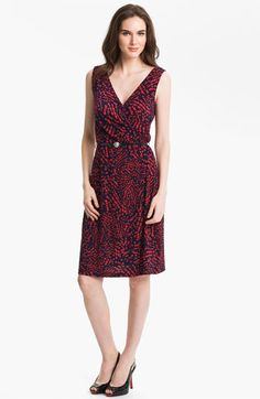 Anne Klein Abstract Dot Print Dress available at #Nordstrom