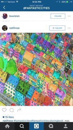 Fantastic Cities On Pinterest