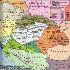 Magyarország határai térkép - Google keresés Historical Maps, Old Maps, Budapest, Planer, Royalty, Language, Culture, Education, Country