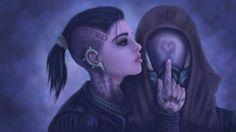 Ladies of Mass Effect Wallpaper by ~xdarknessfalls on deviantART