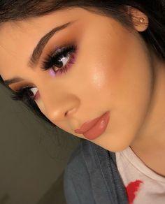 Sexy Makeup, Pretty Makeup, Makeup Inspo, Makeup Inspiration, Makeup Looks, Makeup Ideas, Everyday Makeup, Hair And Nails, Hair Beauty
