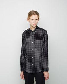 Style Notes: The New Normal  Isabel Marant Étoile   Ramon Gingham Shirt   La Garçonne