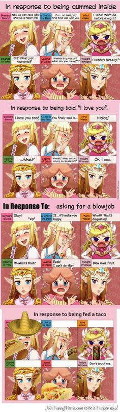 Zelda In Response To...