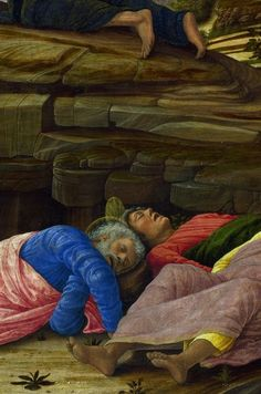 Detail from The Agony in the Garden, Andrea Mantegna
