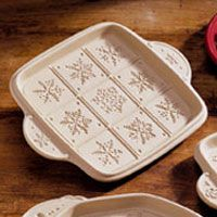 brown bag cookie molds   Brown Bag Snowflake Shortbread Pan