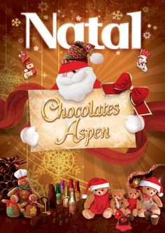 """E-mail Mkt: Natal 2010 Chocolates Aspen - by Thiago Temoteo / """"Sabri Comunicação"""""""