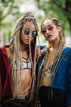 15 of the Most Glorious Hairstyles We Spotted at AFROPUNK - xoVain