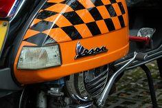 Vespa close up