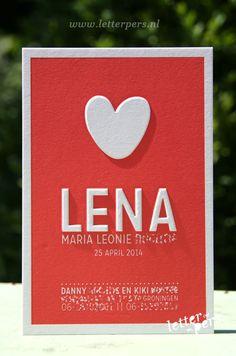 letterpers_letterpress_geboortekaartje_Lena_hart_embossing_relief_preeg
