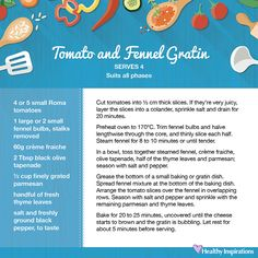 Tomato and fennel gratin #healthyinspirations #healthyrecipes