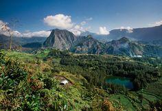 parco Nazionale di La Ruenion -  nell'isola francese della Reunion, nell'Oceano Indiano Le nuove meraviglie naturali  Patrimonio dell'Umanità