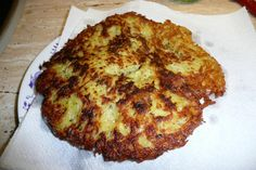 """Bohemian potato pancake """"cmunda"""" #Czechia #food"""