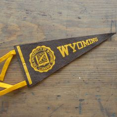 University Of Wyoming Pennant now featured on Fab.