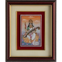 Cg Marble Miniature Painting Frames 3 - Online shopping INDIA - Buy Handicrafts,Gifts, Crafts,handmade, handcrafted, home decor, Gift items, Home Furnishing Items, Statues, Decorative, Indian Handicrafts, Paintings, Wall decor Items