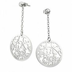 This Stainless Steel Dangling Earrings are a great gift for yourself or others. This Stainless Steel Dangling Earrings is a piece that won't tarnish or scratch easily, and is something you'll love to wear every day, no matter your outfit!