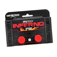 Buy Kontrol Freek FPS Inferno on at Mighty Ape NZ. The vibrant red Inferno adds of height to your OEM sticks, giving you more room to fine-tune aim, increasing overall accuracy and control. Xbox 360, Xbox One Controller, Playstation 4 Accessories, Gaming Accessories, Playstation 4 Console, Playstation 5, Video Games Xbox, Ps4 Games, Nintendo Ds