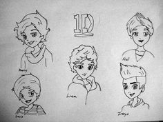 one direction coloring pages cartoon vines | Matching Costumes is always cute! | one direction cartoons ...