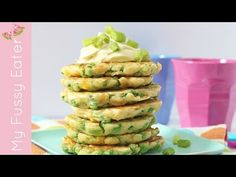 Pea & Sweetcorn Fritters - My Fussy Eater