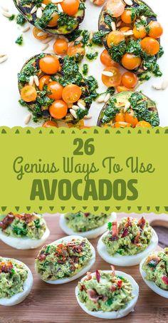 26 Genius Ways To Use Avocado
