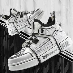 Suits And Sneakers, Custom Sneakers, Custom Shoes, Casual Sneakers, Sneakers Fashion, Casual Shoes, Fashion Shoes, Sneakers Nike, Mens Fashion
