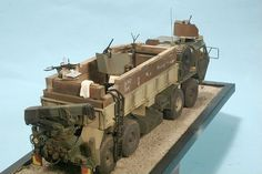 Click this image to show the full-size version. Army Surplus Vehicles, Military Vehicles, Military Gear, Military Photos, Fallout 4 Settlement Ideas, Doll House Plans, Model Tanks, Military Modelling, Military Diorama