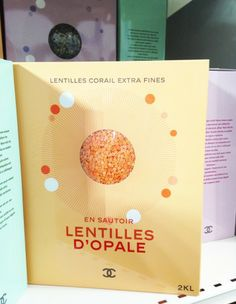 Chanel Supermarket / Chanel Shopping Center / Supermarche. Paris Fashion Week 2014. Grand Palais. Lentils