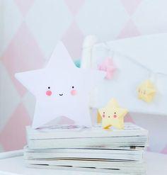 Mini Star Light WHITE - A Little Lovely Company